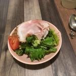 ぽるこ - ランチの前菜サラダ