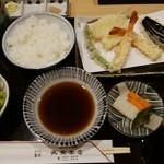 天文本店 - 天ぷらごはん・1,944円