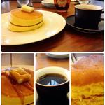 大江ノ郷テラス - 大江ノ郷パンケーキとオーガニックコーヒー