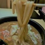 個室居酒屋 咲蔵 - 麺のアップ