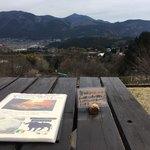 檪の丘 - テラス席からの眺め