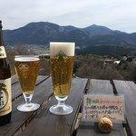 檪の丘 - 生ビールで乾杯