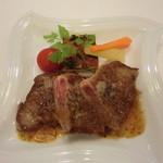 みらい農園 - ディナー★メインの牛肉のソテー