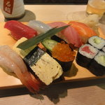 いける鮨 - 料理写真:にぎり(上)