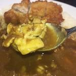 CoCo壱番屋 - まばらな大きさの煮込んだチキンと カレーのスパイスが合うんだな