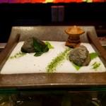 104014522 - 先付 二種の根菜サラダ~枯山水風~