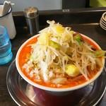 麺屋 婆娑羅 - 担々麺中盛り