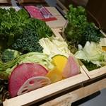 レタしゃぶダイニング - 新鮮な野菜