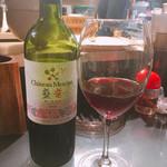 麺や すずらん亭 - 持ち込みのワイン