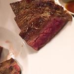 麺や すずらん亭 - イチボのステーキ