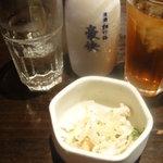 10402205 - 付け出しに日本酒に烏龍茶
