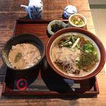 木波屋雑穀堂  - 料理写真:とろろ蕎麦御膳  ¥1030