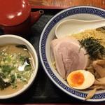 麺家くさび - つけ麺 豚骨醤油¥740(税別)
