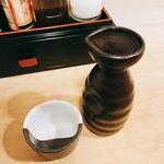 立ち呑 東陽 - 熱燗  一合280円