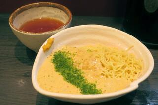 ラーメン大至 - 納豆つけ麺750円