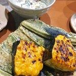 奈良 - 奥はトロトロ白和えと、茄子の肉味噌⭐️