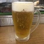 成田家 - とり生ビール