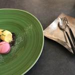 フランス料理と醸造酒 Nuage Japon - 北欧designのcutleryでしょうか・・・ 使い心地良かったです︎︎☺︎︎︎☺︎︎︎☺︎