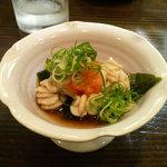 Nobilitas  - 「タラ白子酢」 タラの白子は秋田では「だだみ」と言います。
