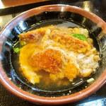 丸亀製麺 - お茶漬け風
