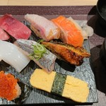 鮨 酒 肴 杉玉 - お昼ごはん 大黒 990円