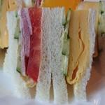 魔愁 - 【ミックスサンドイッチ】 素材を活かすとはこのこと。