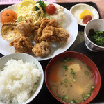 福村食堂 - 唐揚げ定食780円