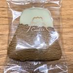 フジヤマクッキー - チョコ(ホワイトチョコ)