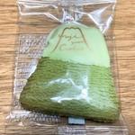 フジヤマクッキー - 抹茶(ホワイトチョコ)