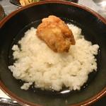 茶割 目黒 - 唐揚げ食べ放題x鶏昆布だし茶漬け1,050円