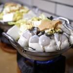 すき焼・鍋物 なべや - ■かきみそ鍋 1300円