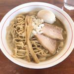 中華蕎麦 會 - 濃厚煮干しそば ¥850 味玉¥100