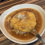 中華・卵料理のお店 卯龍 - 天津飯   しょうゆ