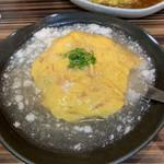 中華・卵料理のお店 卯龍 - 天津飯   しお