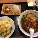 桃源亭 - 料理写真:ラーメン定食(980円)
