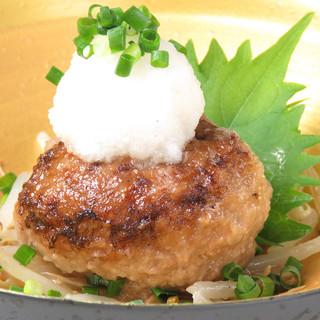 焼肉コースで味わう将泰庵名物「飲めるハンバーグ」