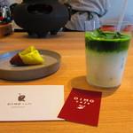 オイモカフェ ゼンプクジ - 『抹茶ラテ』