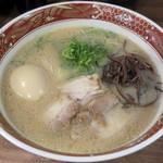 104052832 - 【ラーメン 煮玉子入 普通】¥780
