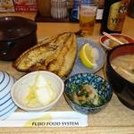 さち福や - 具沢山豚汁と塩鯖の定食