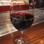 ふじさき屋 - 赤ワインをグラスで、、、