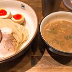 麺や輝 - 味玉つけ麺