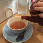 しまうまカフェ - 女子のドリンクは紅茶(ムレスナティー ミント)