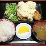 水炊き・焼き鳥 とりいちず酒場 - チキン南蛮定食 ¥500(税込)