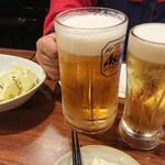 三代目 鳥メロ - ビール