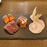 ビストロ ノアキ - 料理写真:前菜盛り合せ(5種)