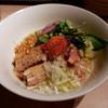 アジトイズム - 料理写真:カルボナーら(850円)+〆のリゾット(200円)