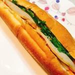 ベトナムレストラン ノンラー - テイクアウトのバインミー  550円