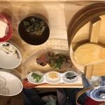 おぼんdeごはん - カンパチの胡麻ダレ茶漬け  950円  税別
