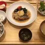 おぼんdeごはん - 鰆の湯葉あんかけ  お魚の定食  1000円 税別