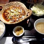 104078008 - 麻婆豆腐ランチ♪